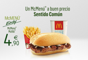 McRib Returns To Spain